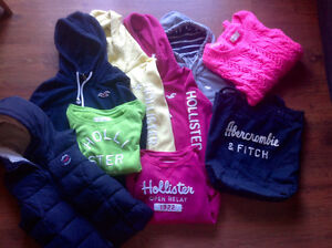 Lot Hollister et Abercrombie taille small