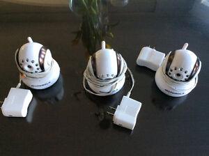 3 motorola cameras for wireless monitor