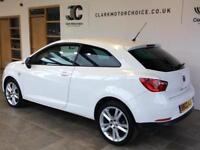 2012 SEAT Ibiza 1.6 TDI CR Sportrider SportCoupe 3dr Diesel white Manual