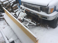 Snow plow 7 ft for toyota