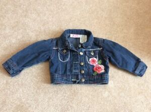 Baby Girl Jean Jacket, size 18 months