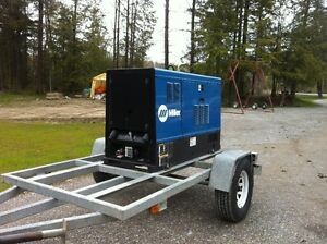 Welder Generator Miller Big Blue Air Pak CC/CV (Deluxe Option)