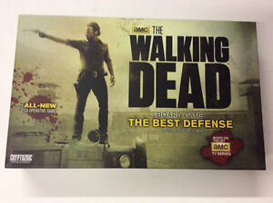 The Walking Dead Best Defence board game complete