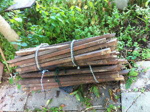 Used ceded baluster for deck / fence wood