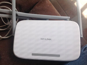 Modem and router