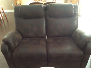 TWO GREAT DOUBLE RECLINERS