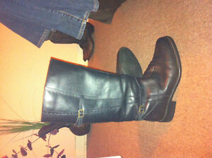 Women's insulated Leather boots