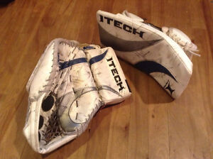 Itech X-Factor Adult Goalie Gloves - Made in Canada!