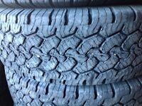 4- 245/75R17 RUGGED TRAIL 10 PLY $300