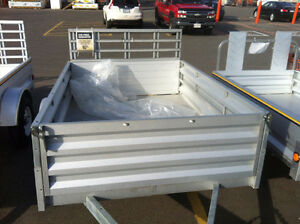 5' x 7.3' Galvanized Steel Utility Trailer