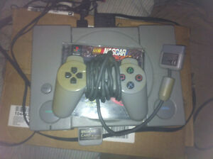 URGENT! Ps1 with one controller, Memory card and one game!