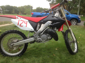Clean Honda cr125