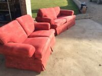 Multi York 2 seater sofa settee and 3 seater sofa bed settee