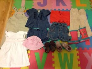 Baby girl summer clothes 12-18m