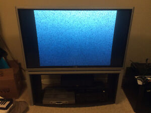 50 inch Toshiba DLP High Definition TV + Stand