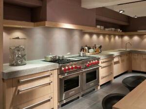 Granite & Quartz Countertops  - Any Material & Shape of Kitchen