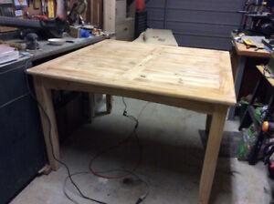 WHITE PINE TABLE