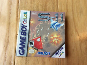 PROJECT S-11 (Nintendo Game Boy Color) ~ Complete & Mint