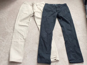 Boys youth pants and shirts