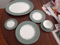 Set of Wedgwood Dishes - 6 Place Settings Plus Platter - Halford