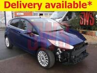 2015 Ford Fiesta Titanium Turbo 1.0 DAMAGED REPAIRABLE SALVAGE