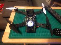 250 quadcopter part built