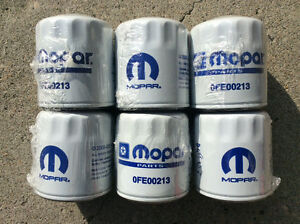 JEEP WRANGLER OIL FILTERS   -   OFE00213