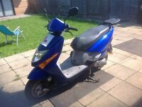 Honda lead 100 2007. Low Miles