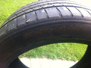 245 45 ZR19 michelin pilot sport