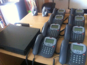 Avaya IP Office 500 Phone System with 8 Handsets + 2 Wireless