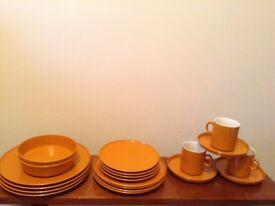 Retro orange picnic set