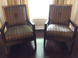 Decorative Chairs (X2)