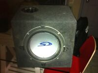 "12"" alpine type S sub"