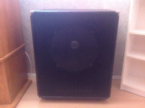 2 band speakers once used in band