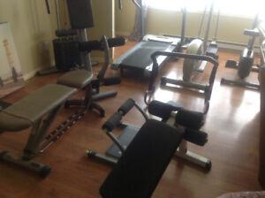 Appareil à exercise