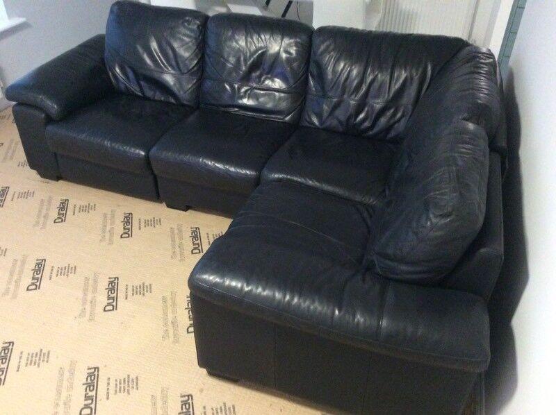 Sensational Leather Corner Sofa In Boldon Colliery Tyne And Wear Gumtree Inzonedesignstudio Interior Chair Design Inzonedesignstudiocom