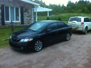 2010 Honda Civic Si Berline