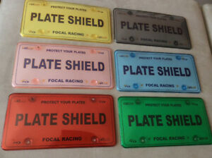 Licence PLATE Covers — Colour SHOW Plates also available