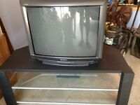 26 inch Sony TV with Table