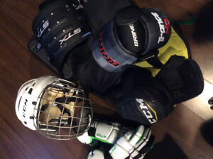 All Lacrosse equipment shown in the picture