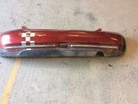 BMW mini rear bumper