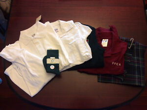 FFCA Uniform Items Lot Kilt Blouses Vest