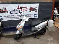 HONDA LEAD 100 SCV GOOD CONDITION JUST SERVICED NEW MOT