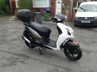 2012 sym jet 4 125cc scooter/moped