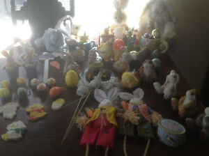 Price Drop!! ASSORTED EASTER DECORATIONS- 57 in total!!