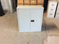 Bisley metal storage cupboard