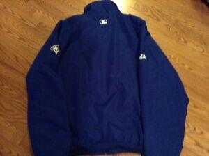 2012 Bluejays Majestic authentic onfield premier jacket Cambridge Kitchener Area image 2