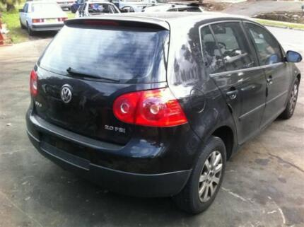 VW GOLF MARK 5 COMPLETE CAR FOR WRECKING YEARS 2005 ON VW PARTS