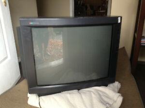 Large older model. Great shape! Perfect for games or an extra TV