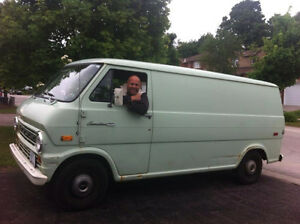 71 FORD VAN Econoline 100          SOLIDE BODY